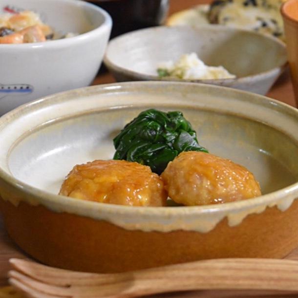Chcken-Tofu fluffy ball